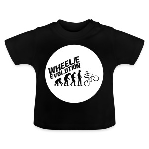 Wheelie Evolution (WHITE) - Baby T-Shirt