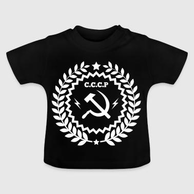 Communist Hammer Sickle Badge - Baby T-Shirt
