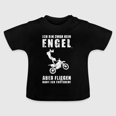 Motocross   Motorrad   Motocross-Sport   Freestyle - Baby T-Shirt