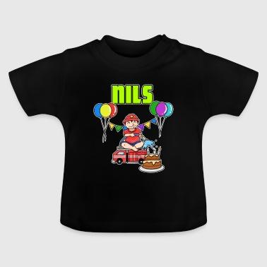 Nils cadeau sapeurs-pompiers - T-shirt Bébé
