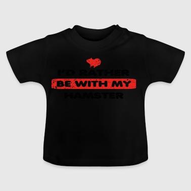 Hamster amour plutôt dans mon HAMSTER - T-shirt Bébé