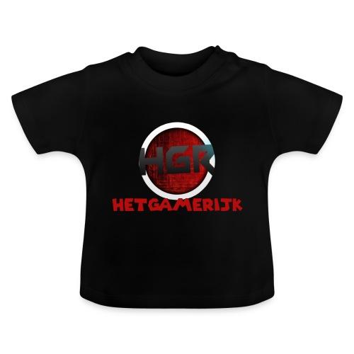 logo + tekst! - Baby T-shirt
