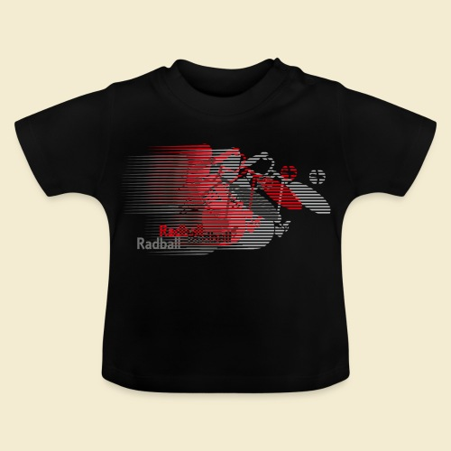 Radball | Earthquake Red - Baby T-Shirt