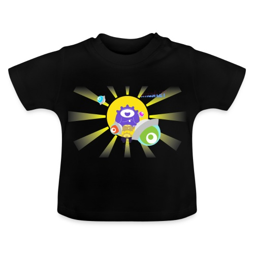 SmashET game intro design - Baby T-Shirt