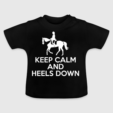 Dressur - Pferd - Reiter - Geschenk - Pferde - Baby T-Shirt