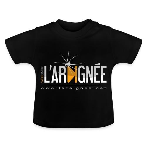 L'Araignée, le logo clair pour fond foncés - T-shirt Bébé