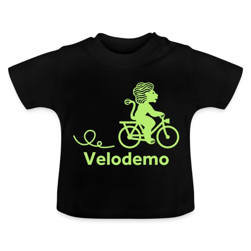 Züri-Leu mit Text - Baby T-Shirt