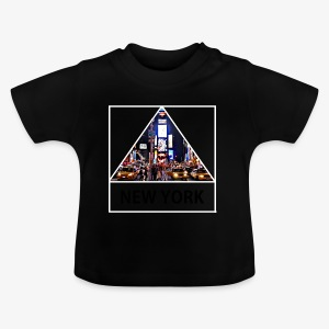 Triangle sur New York - T-shirt Bébé