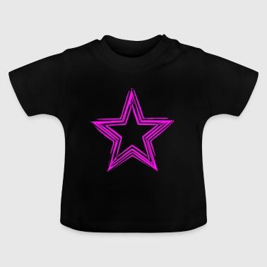 Star pink - star Shirts - Baby T-Shirt