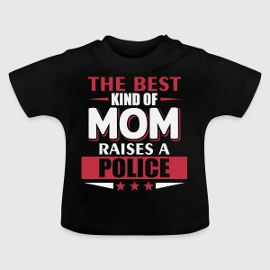 Mom Politie - Police - Baby T-shirt