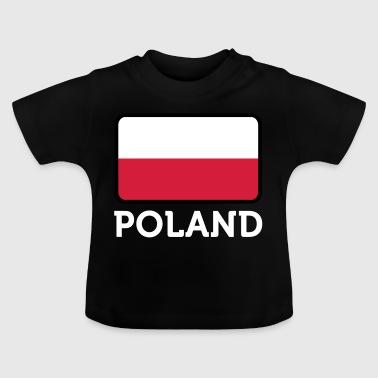 Nasjonal flagg av Polen - Baby-T-skjorte