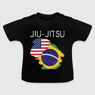 Jiu-jitsu: USA-Brazil - Camiseta bebé