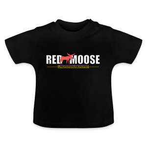 Red Moose logo - Baby-T-shirt