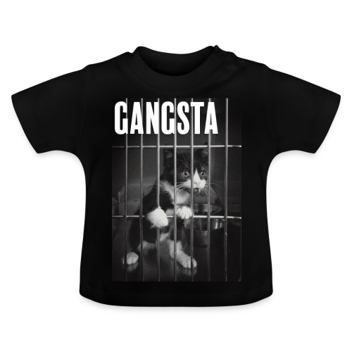 Gangsta cat - T-shirt Bébé