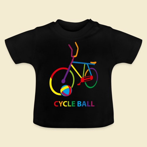 Radball | Cycle Ball Rainbow - Baby T-Shirt