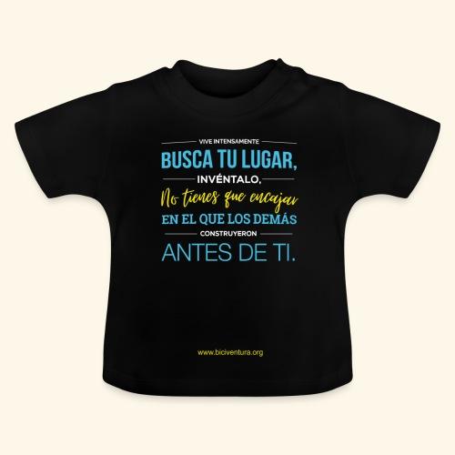 Busca tu lugar - Camiseta bebé