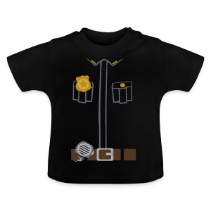 Police Tee Black edition - Baby T-Shirt