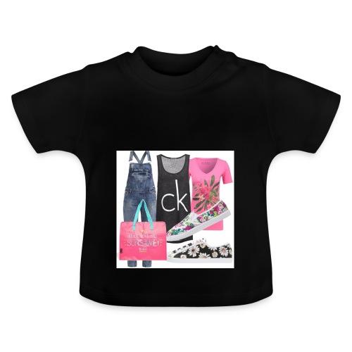 outfit pace e amoreio amo il colore - Maglietta per neonato