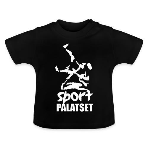 Motiv med vit logga - Baby-T-shirt