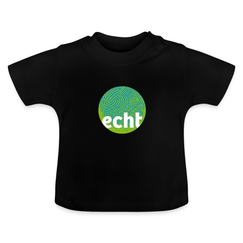 echt.cloppenburg Stadtmarke Grün - Baby T-Shirt