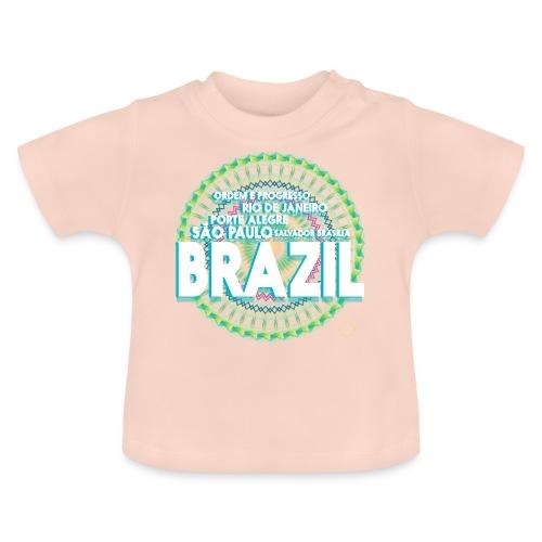 Lemon Brazil Mandala - T-shirt Bébé