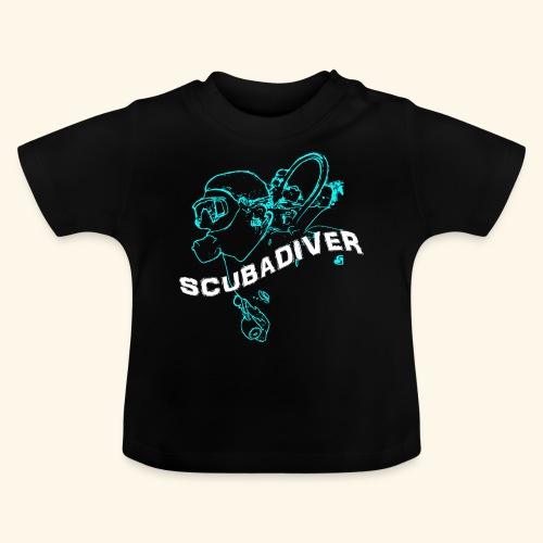 ScubaDiverShirt001 - Baby T-shirt