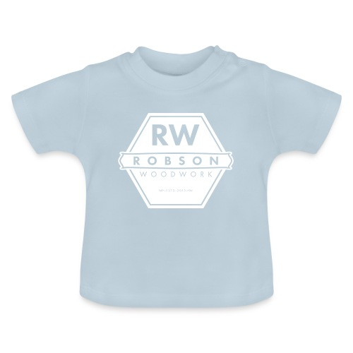 RW Logo In White - Baby T-Shirt