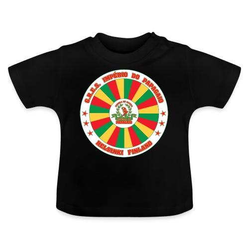 Papagaio drum logo - Vauvan t-paita