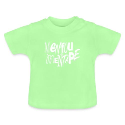 MENFOUMENTAPE (blanc sans contours) by Alice Kara - T-shirt Bébé