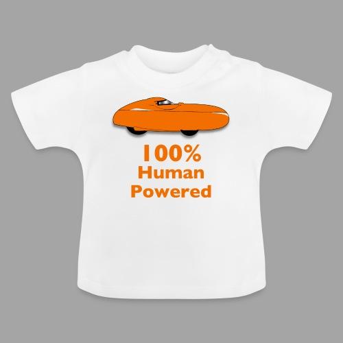 100% human powered - Vauvan t-paita