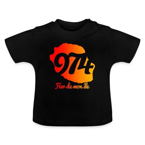Collection 974 Fier de mon île - T-shirt Bébé