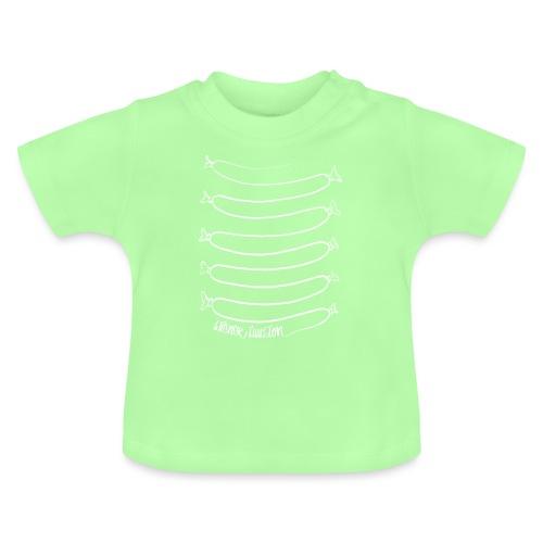Wiener Illusion (weiß auf schwarz) - Baby T-Shirt