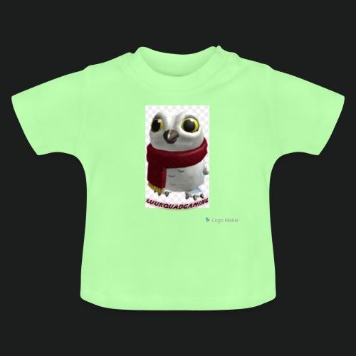 Merch white snow owl - Baby T-shirt