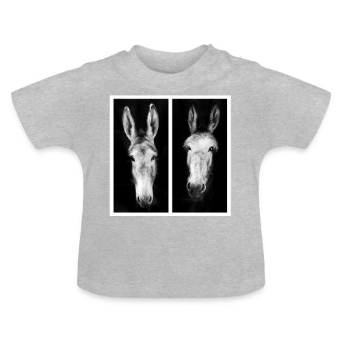 Eselköpfe-Esel - Baby T-Shirt