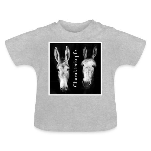 Eselköpfe_Charakterköpfe - Baby T-Shirt