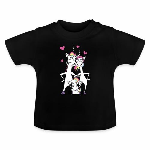 Familie Einhorn - Baby T-Shirt