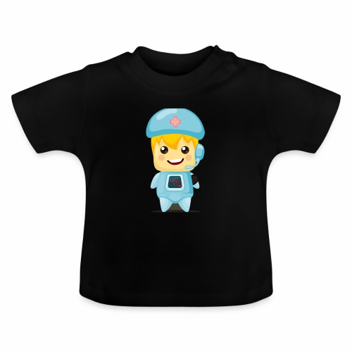 robot medico - Camiseta bebé