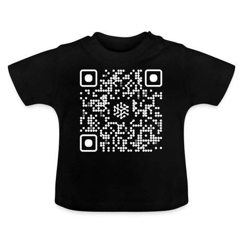 QR Safenetforum White - Baby T-Shirt