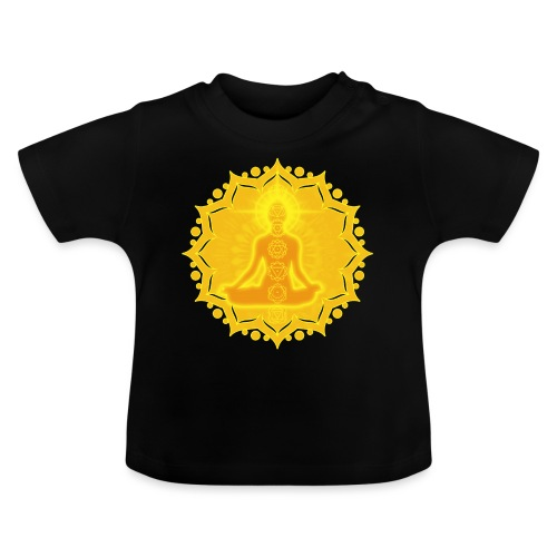 Yoga Lotus Meditation Chakren III - Baby T-Shirt
