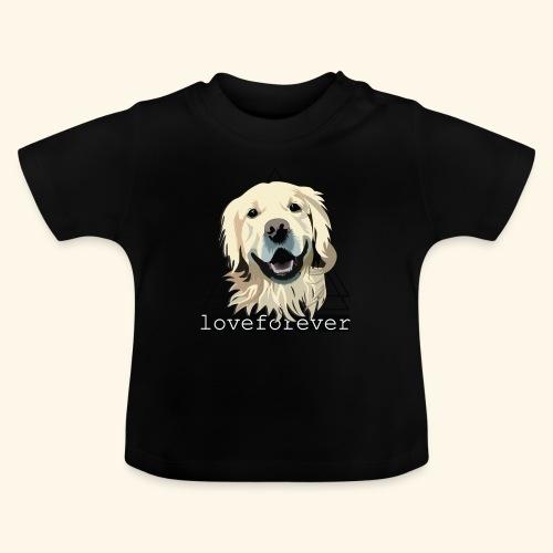 RETRIEVER LOVE FOREVER - Camiseta bebé