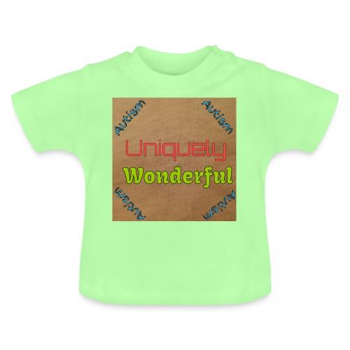Autism statement - Baby T-Shirt