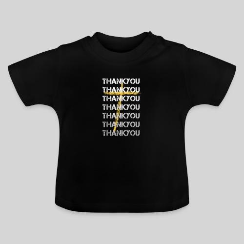 DANKE Jesus, das Geschenk für Christen THANKYOU - Baby T-Shirt