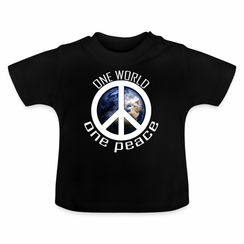 One World, One Peace - Baby T-Shirt