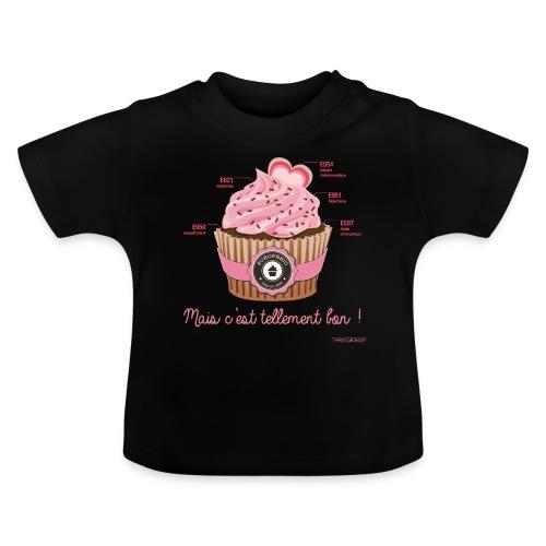 cupcake rose 2 - T-shirt Bébé