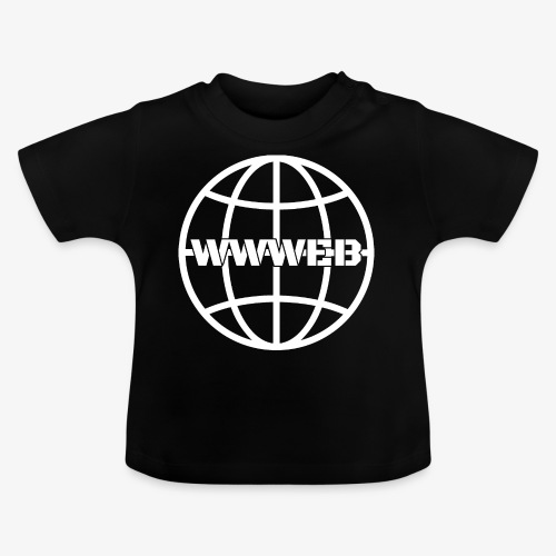 WWWeb (white) - Baby T-Shirt