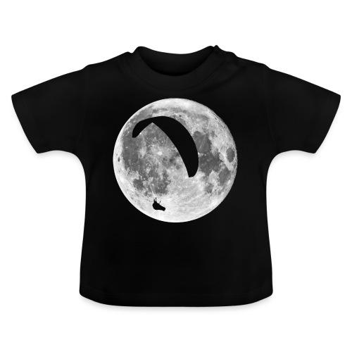Paragleiter im Mond - Baby T-Shirt