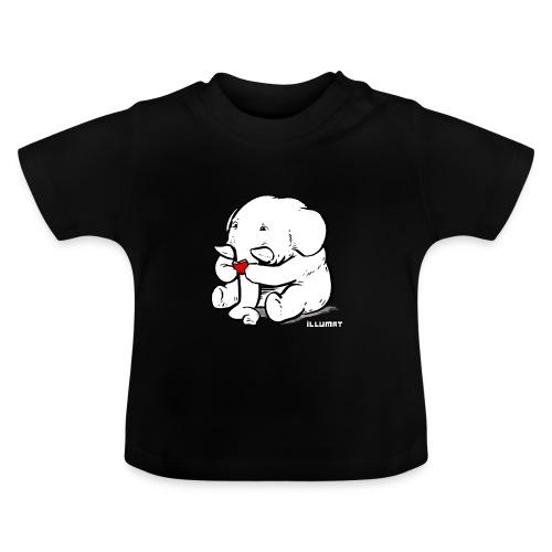 Stef 0002 00 Lesefant - Baby T-Shirt