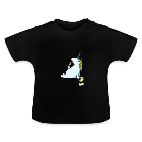 STE 0006 00 Eis Einhorn - Baby T-Shirt