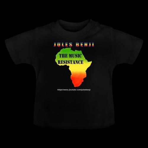 JULES BENJI & MUSIC RESISTANCE africa design - Baby T-Shirt