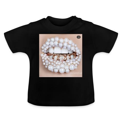 golden lips - Baby T-Shirt